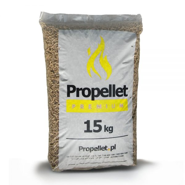 ProPellet Premium Yellow worki 15 kg – 6 mm